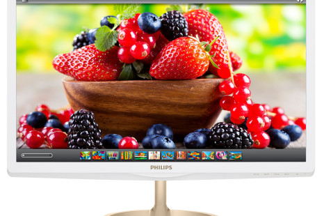 Philips debuts world's first quantum-dot PC monitor