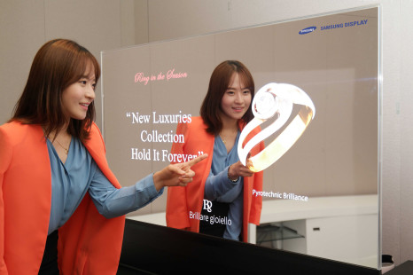 Samsung launches first transparent and mirror OLED displays