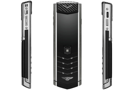 Vertu debuts second phone for Bentley owners