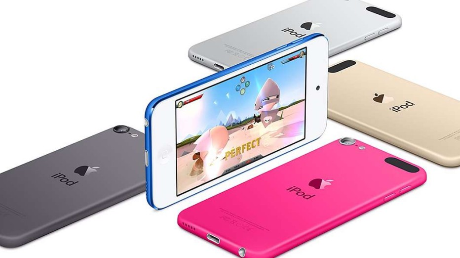 Apple updates its iPod Touch player