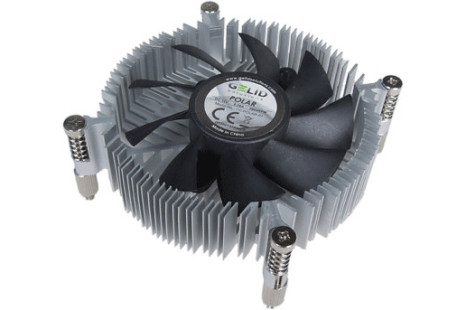 GELID debuts Polar 1U low profile CPU cooler