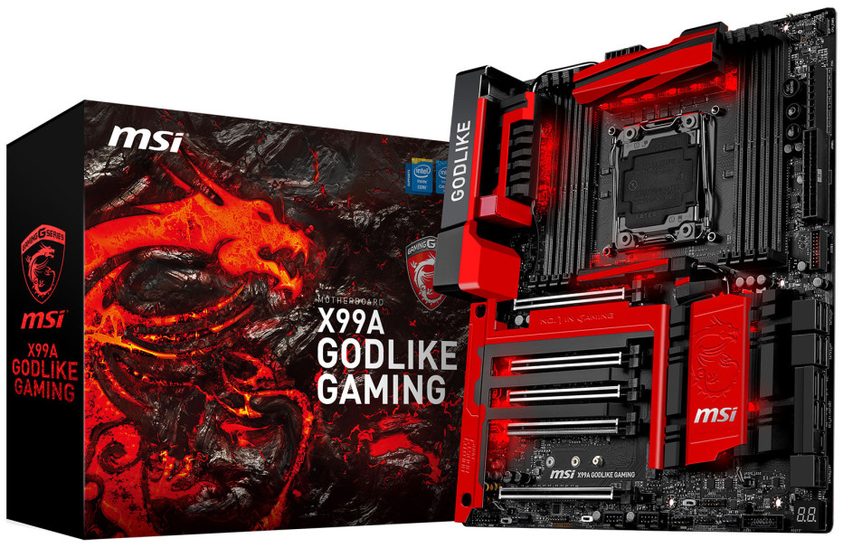 MSI launches the X99A Godlike Gaming motherboard