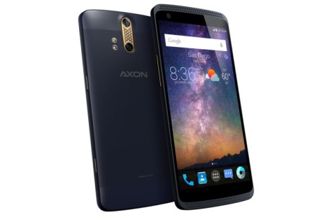 ZTE launches Axon smartphone