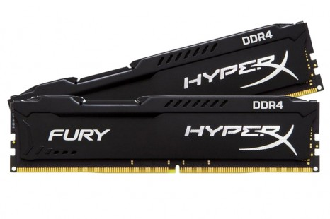 Kingston launches HyperX Fury DDR4 memory for Skylake