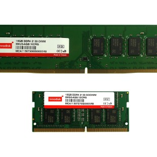 Innodisk announces new 16 GB DDR4 memory modules