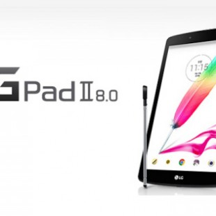 LG presents the G Pad II 8.0 tablet