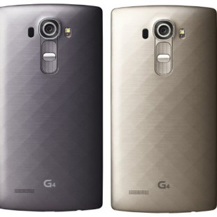 LG presents metallic G4 smartphone