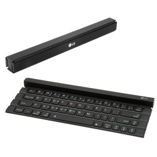 LG creates rollable keyboard