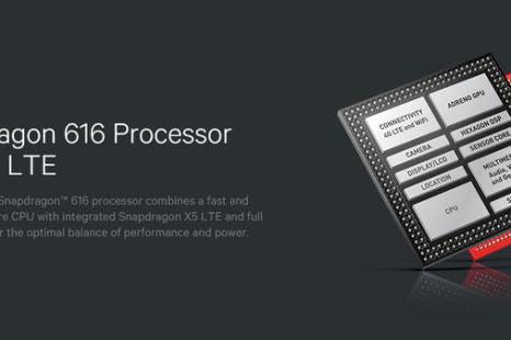 Qualcomm debuts Snapdragon 616 processor