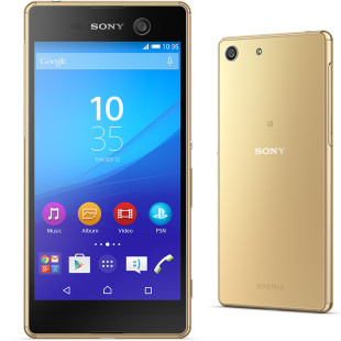 Sony presents Xperia M5 smartphone
