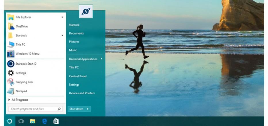 Start10 offers Windows 7 Start Menu in Windows 10