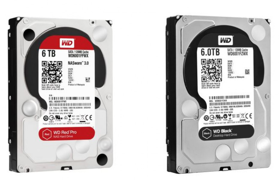WD launches new hard drives