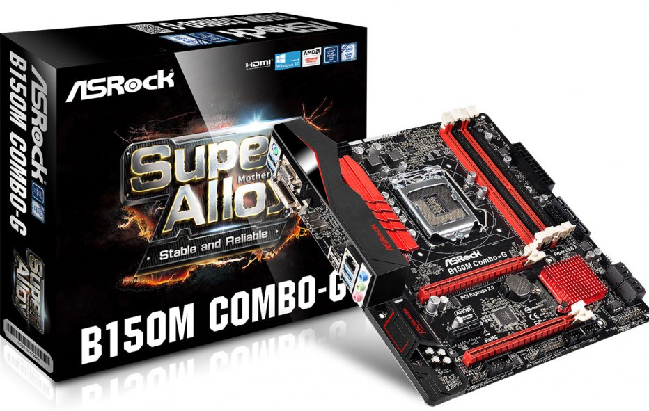 ASRock treats fans with B150M Combo-G3 motherboard