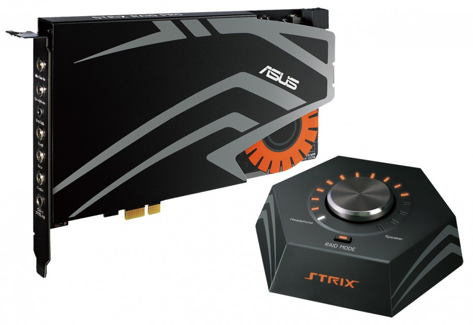 ASUS debuts Strix sound card line