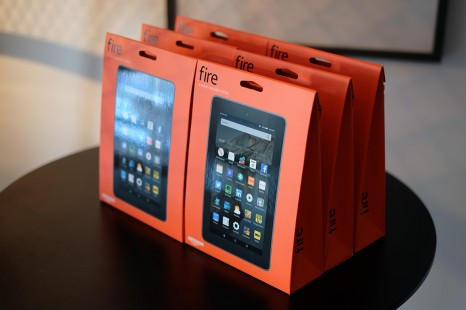 Amazon presents four new tablets