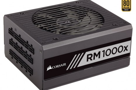 Corsair debuts RMx series power supply units