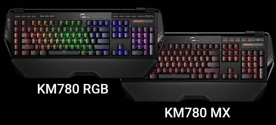 G.Skill KM780 keyboards