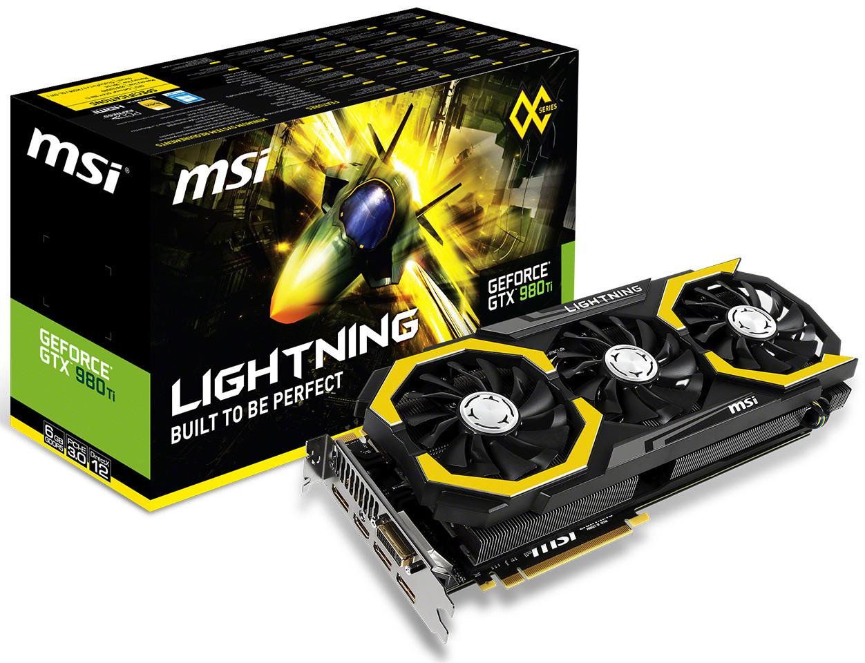 MSI GTX 980Ti Lightning