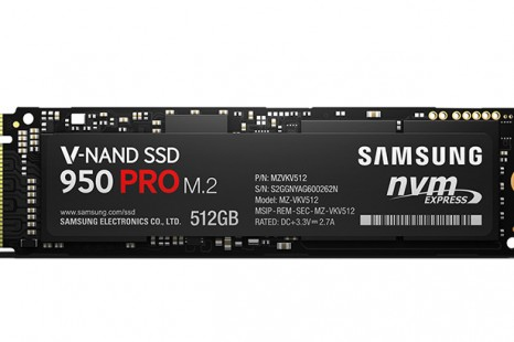 Samsung presents 950 Pro SSD line