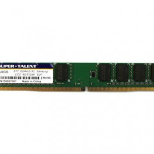 Super Talent unveils low profile DDR4 memory