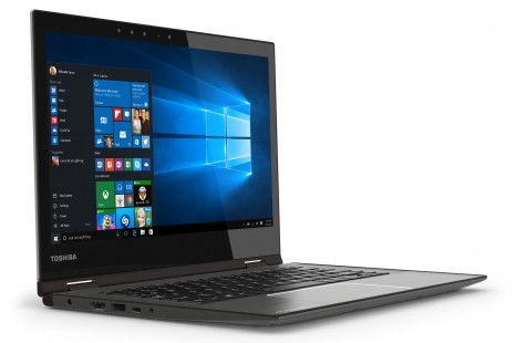 Toshiba announces world's first 4K Ultra HD convertible notebook