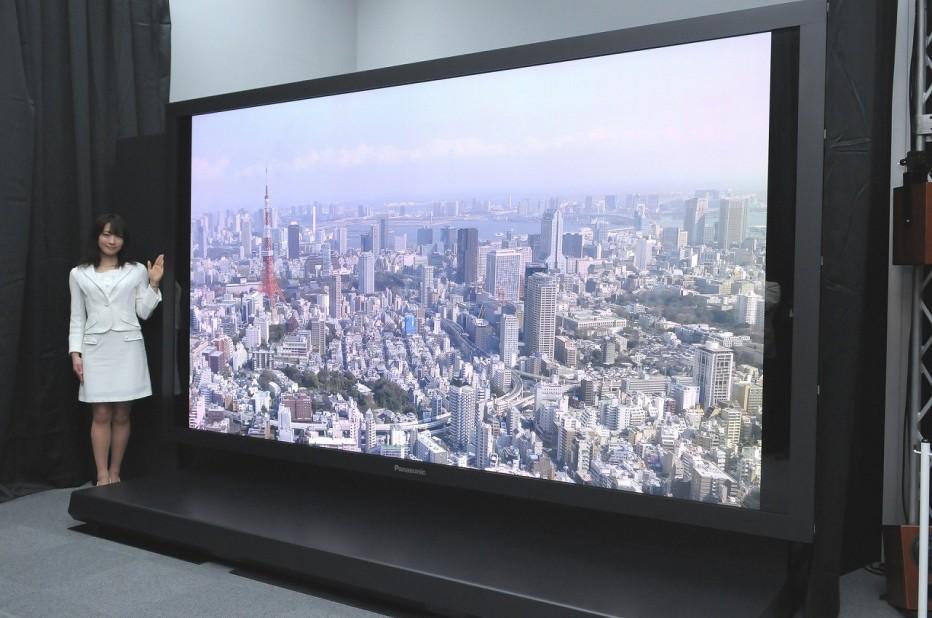 Sharp Prepares First 8K TV for October Release