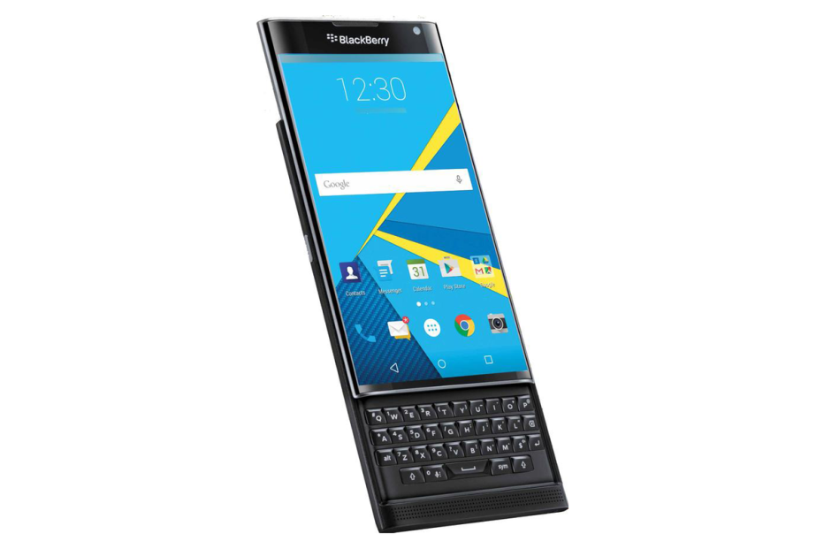BlackBerry accidentally lists Priv smartphone specs