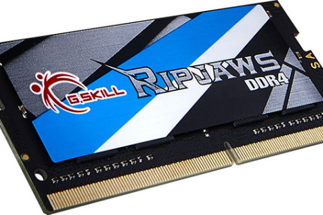 G.SKILL debuts Ripjaws DDR4 SO-DIMM memory