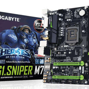 Gigabyte releases G1.Sniper M7 motherboard in North America