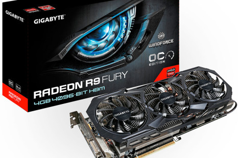 Gigabyte announces Radeon R9 Fury WindForce video card