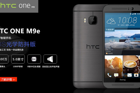 HTC creates the One M9e smartphone