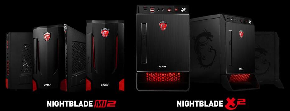 MSI debuts two new gaming desktop computers