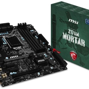 MSI releases the Z170M Mortar gaming motherboard
