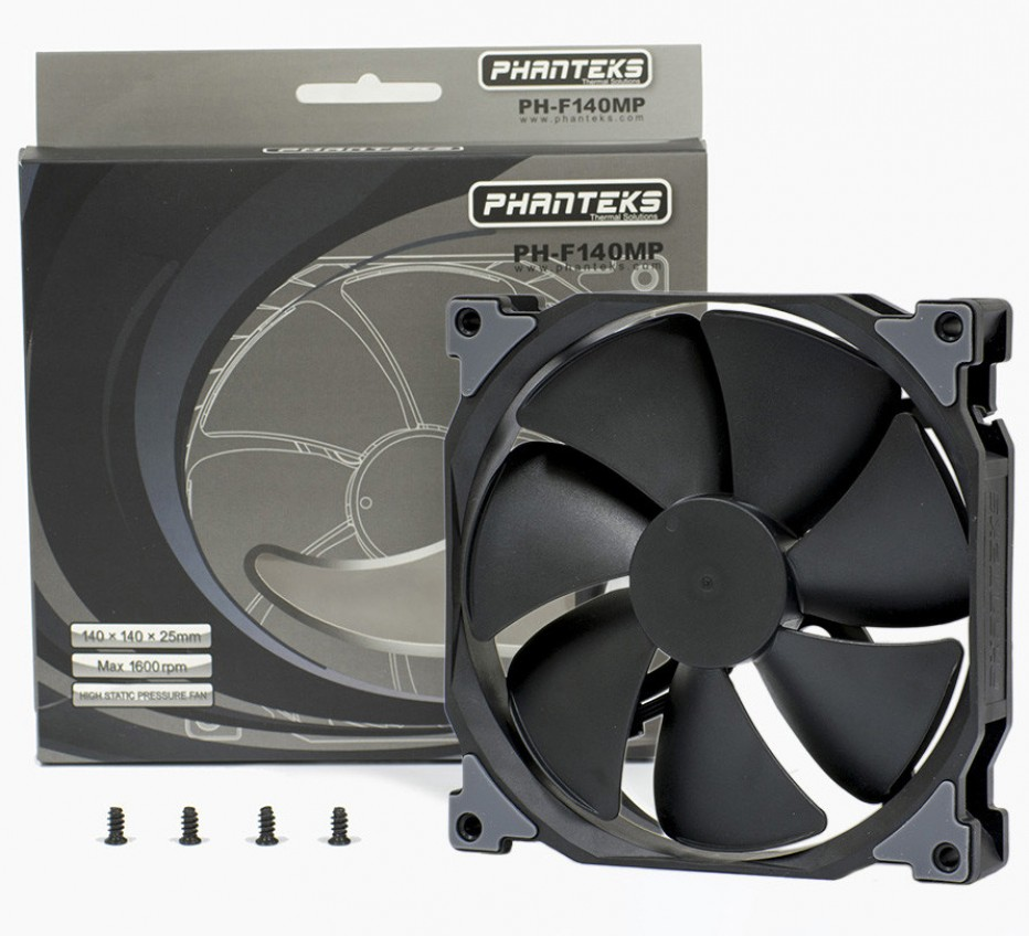 Phanteks announces MP and SP series of cooling fans