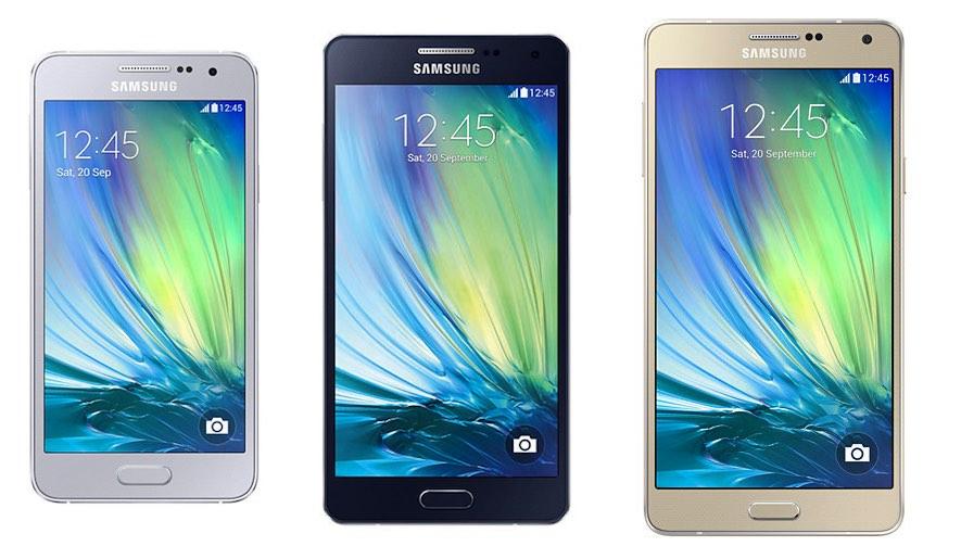 Samsung Galaxy A line