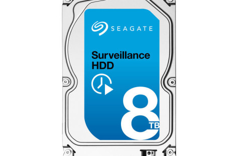 Seagate intros 8 TB hard drive for surveillance needs