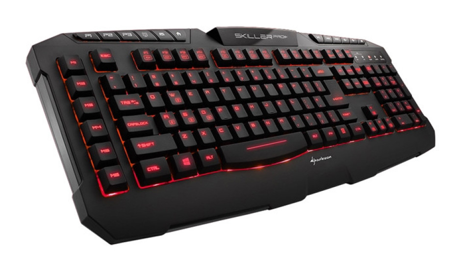 Sharkoon debuts the Skiller PRO+ gaming keyboard