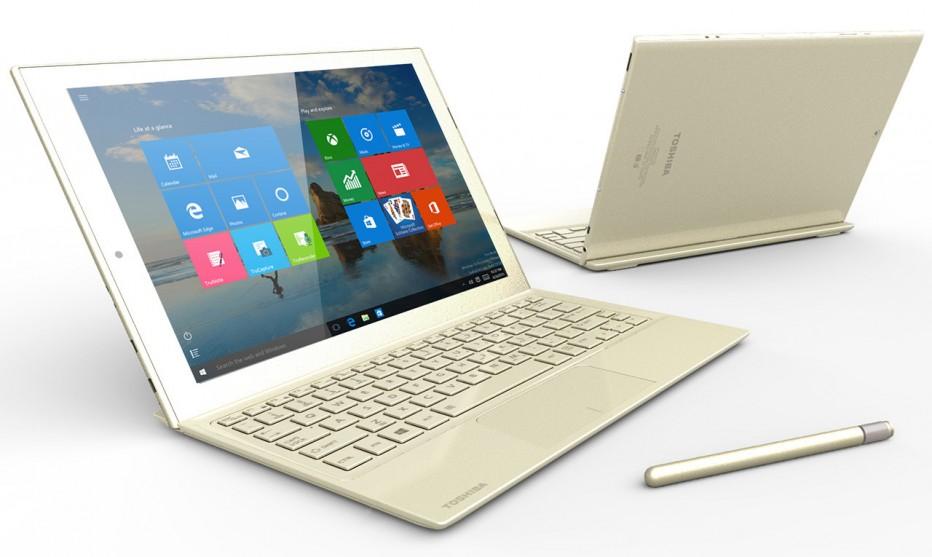 Toshiba debuts the dynaPad convertible notebook