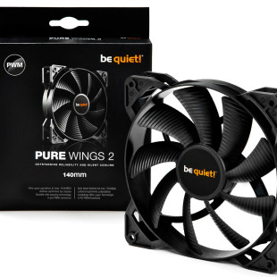 be quiet! presents Pure Wings 2 cooling fans