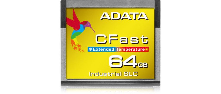 ADATA releases the ICFS332 industrial CFast card