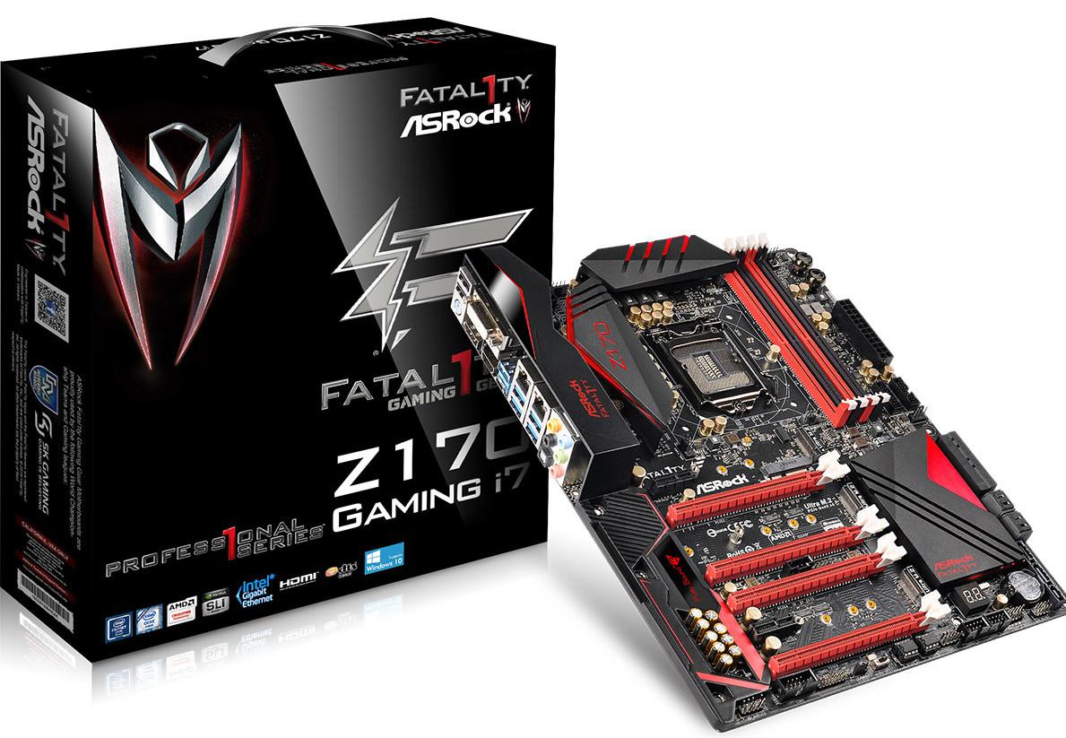 Fatal1ty Z170 Professional