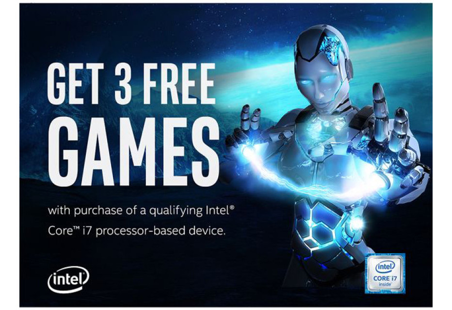 Intel bundles its chips with games