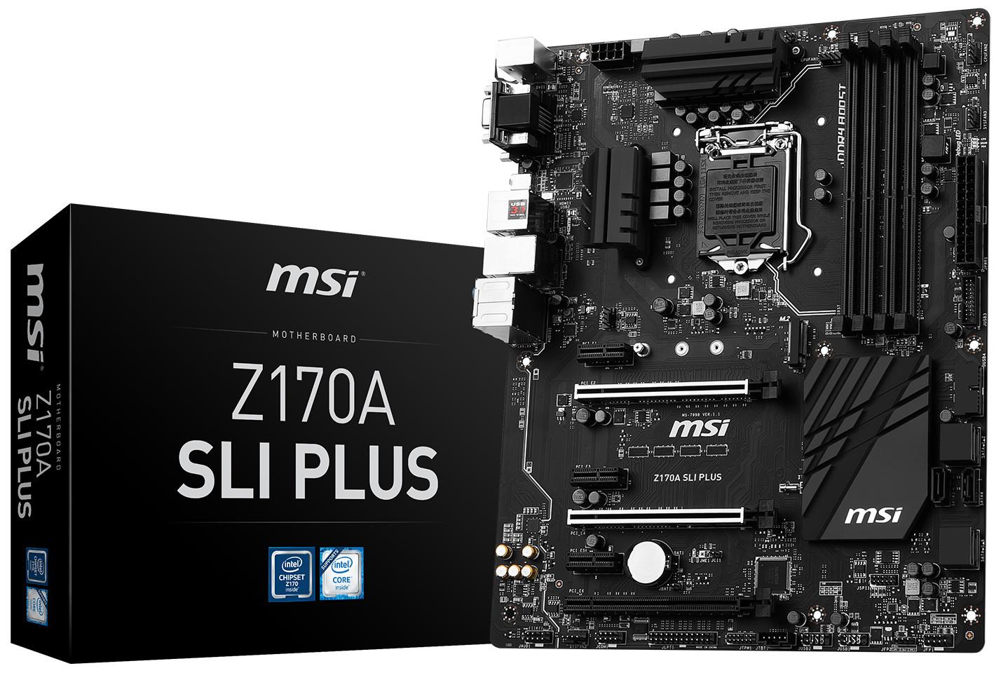 MSI Z170A SLI Plus