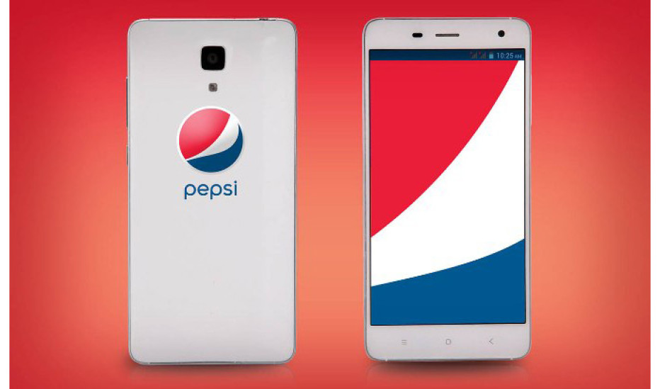 Pepsi releases its first smartphone