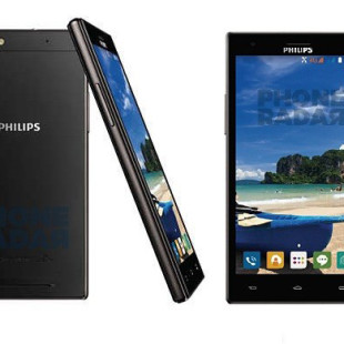 Philips introduces two smartphones with SoftBlue technology