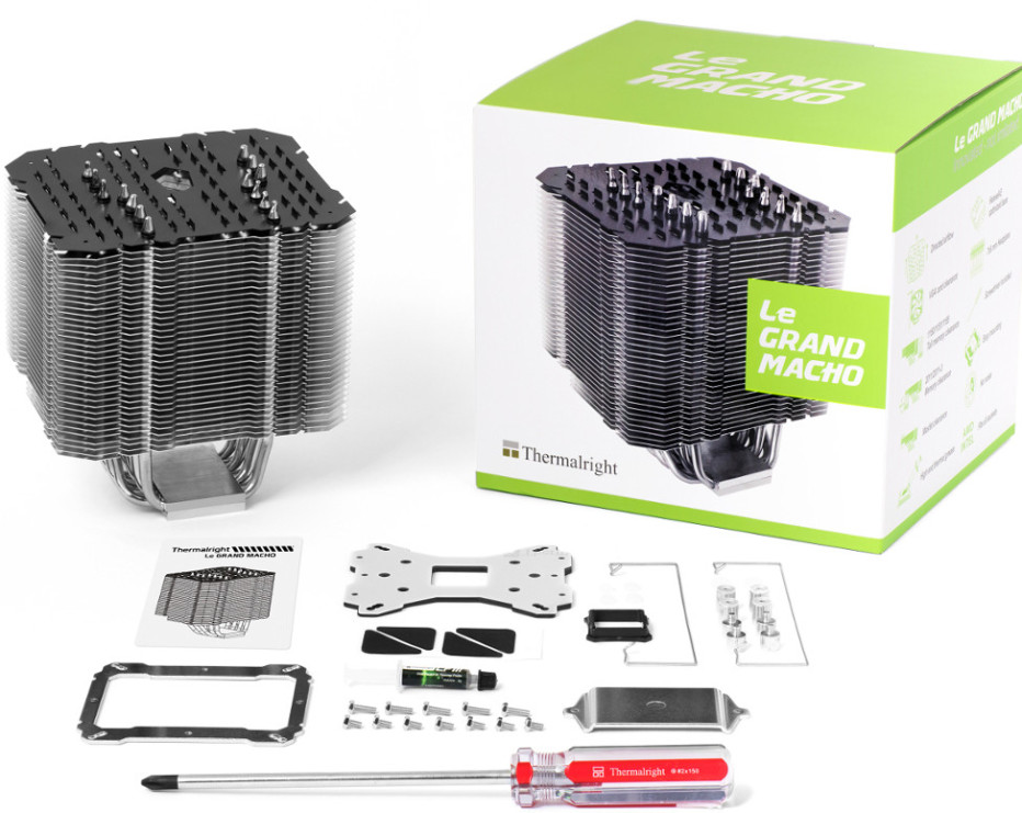 Thermalright debuts Le Grand Macho CPU cooler