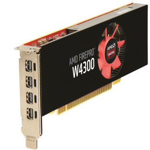 AMD announces the FirePro W4300 graphics card