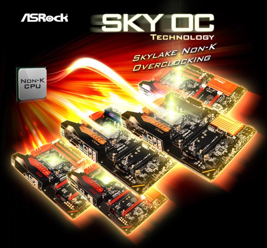 ASRock announces Sky OC technology