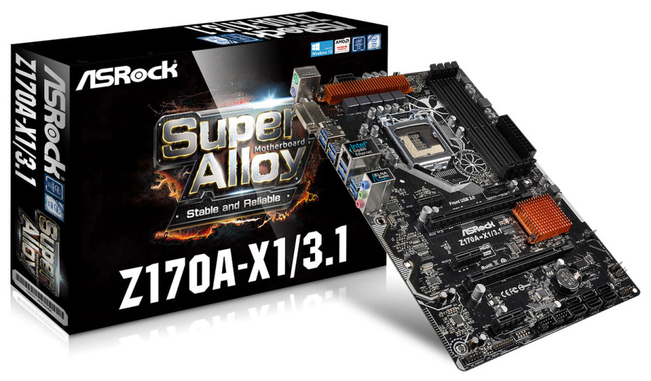 ASRock releases new Z170-based motherboard