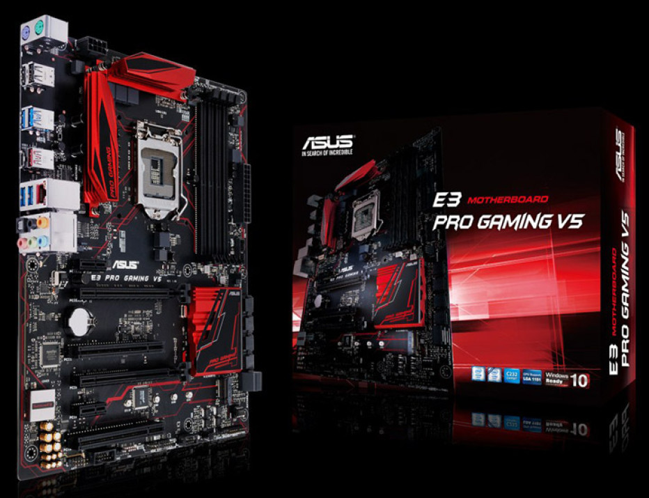 ASUS unveils E3 Pro Gaming V5 motherboard